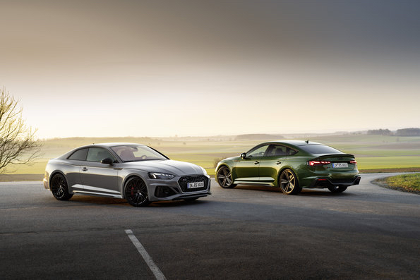 Audi RS 5 Coupé and Audi RS 5 Sportback combines dynamic and look