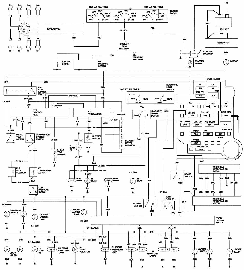 Opel Radio Wiring Diagram