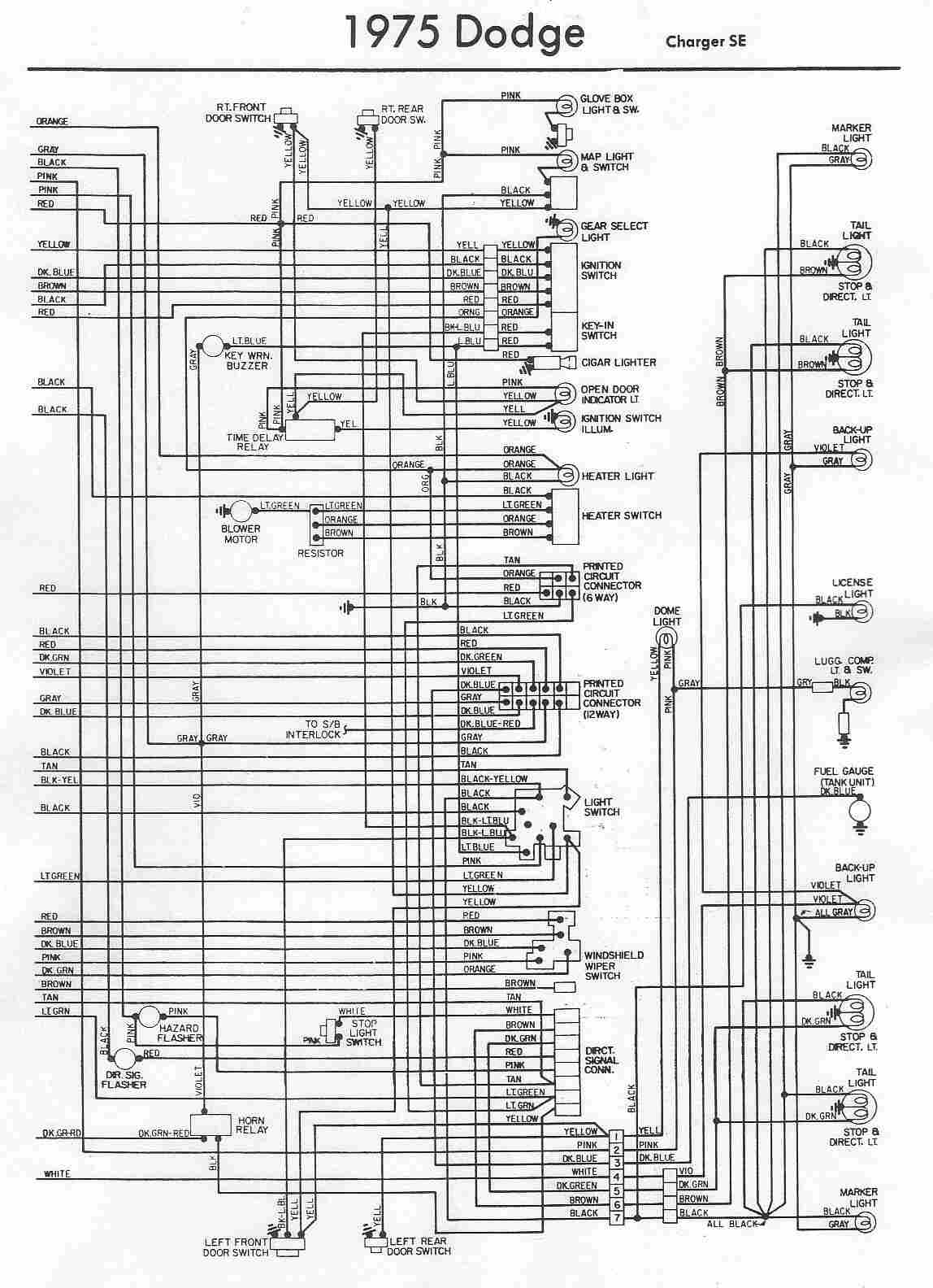2013 Dodge Challenger Underhood Wiring Diagram | Online