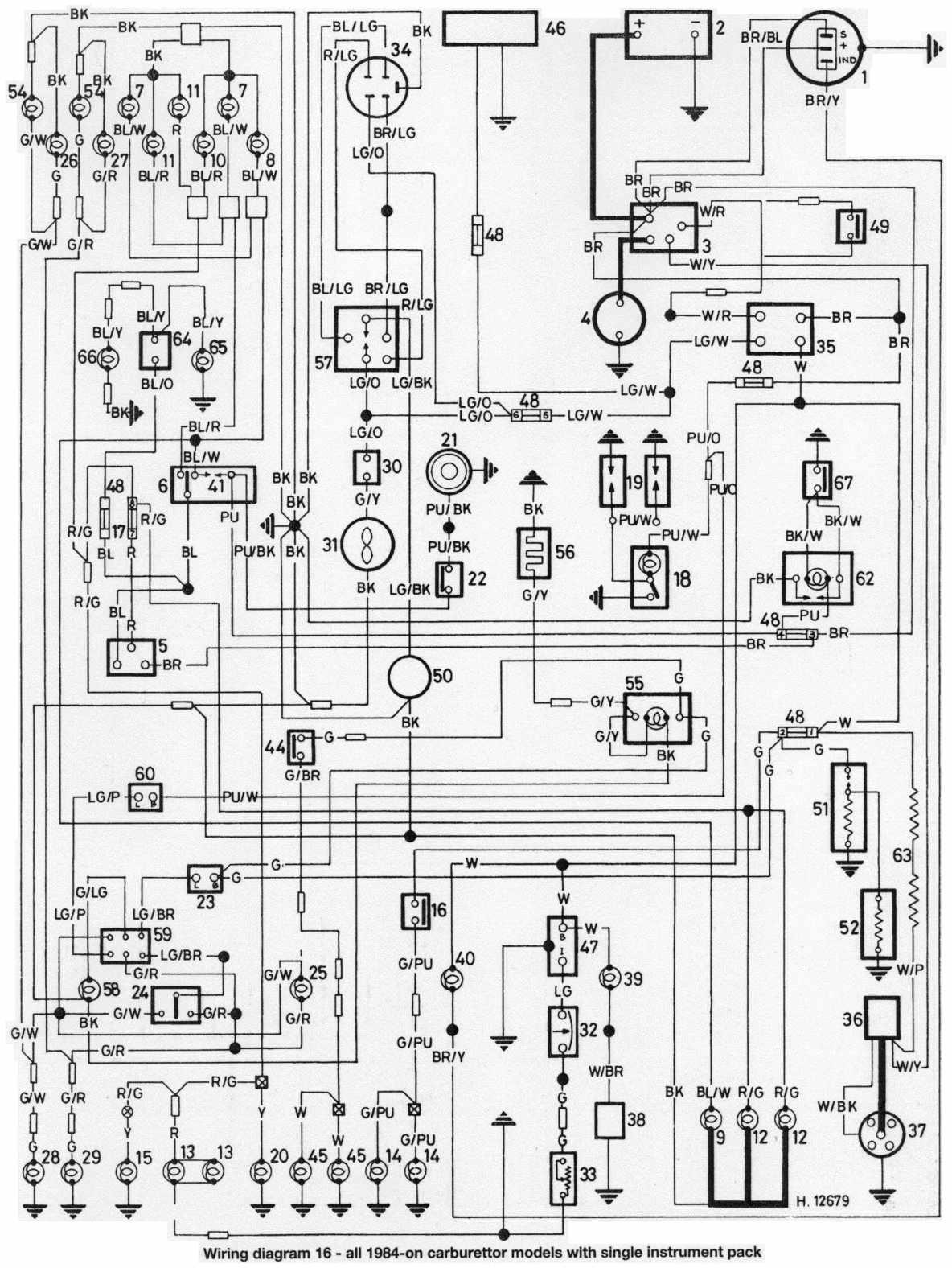 1985 Austin Mini Wiring Diagram  Wiring Diagram