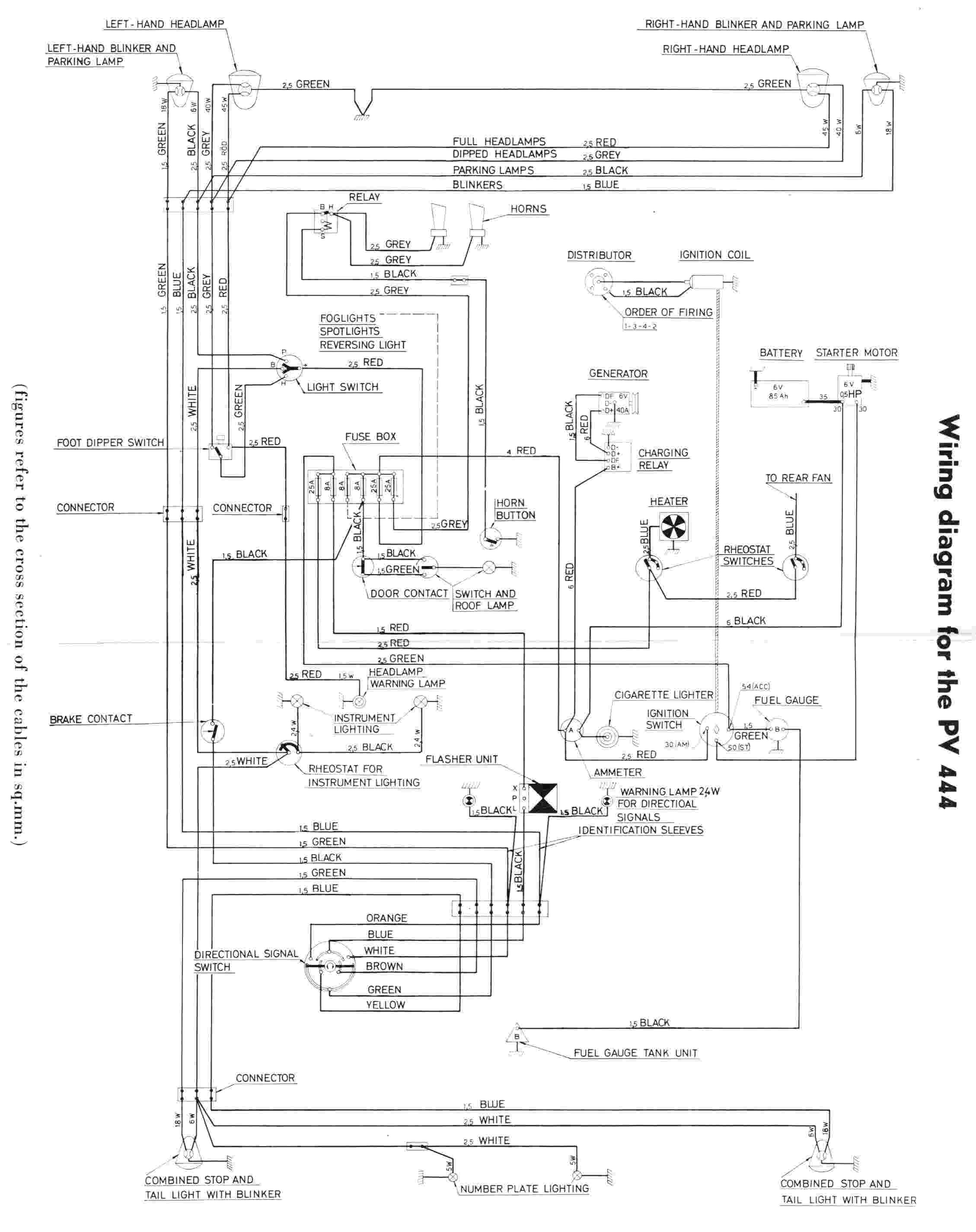 electrical wiring diagram of volvo pv444?resize=665%2C839&ssl=1 citroen relay rear light wiring diagram wiring diagram citroen relay rear light wiring diagram at crackthecode.co