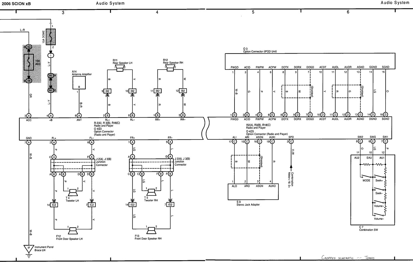 Scion  car manuals, wiring diagrams PDF & fault codes