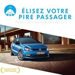 VW Polo : Elisez le pire passager sur Facebook!