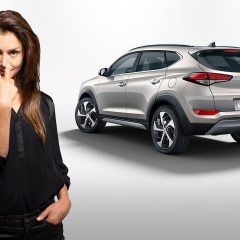 #ChangeIsGood : Hannah Ware fait la pub du nouveau Hyundai Tucson!