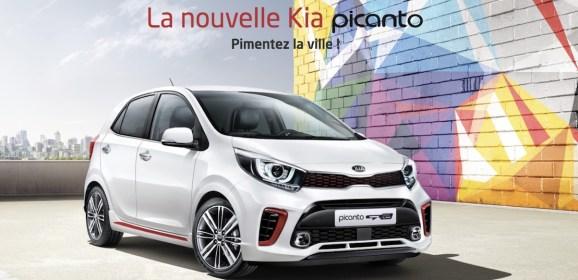 Nouvelle Kia Picanto : Pimentez la ville!