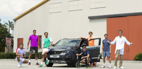 #DriveToTennis : Peugeot renforce son engagement dans l'univers du tennis!