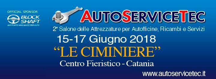A Catania in arrivo AutoServiceTec: Salone per officine, ricambi e servizi