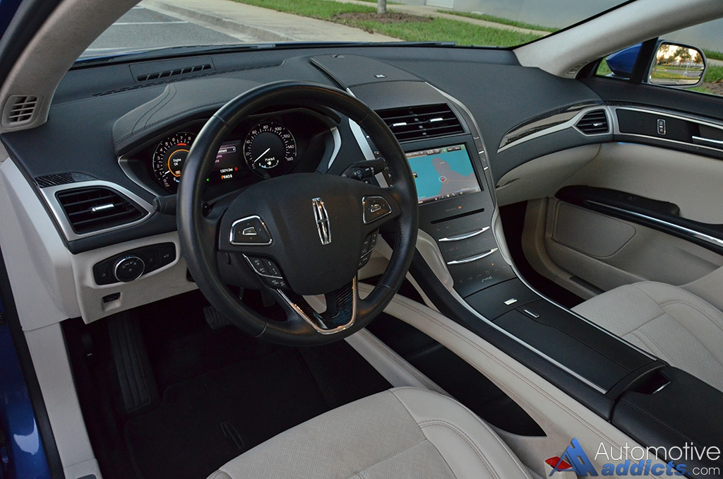 2015 Lincoln MKZ 37 AWD Black Label Quick Spin
