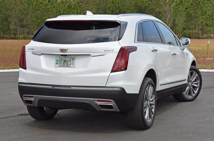 2020 Cadillac xt5 2.0 turbo back