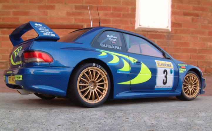 Tamiya Subaru Impreza WRC By Guiddy