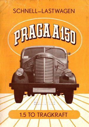 1949 Praga Brochure