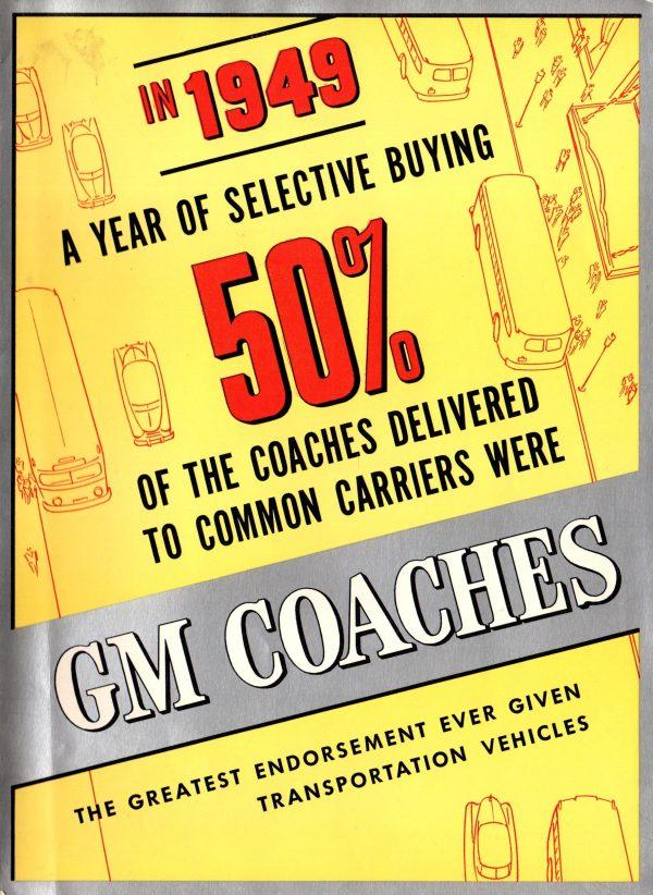 1950 GM Coaches Brochure