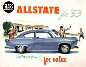 1953 Sears Allstate Automobile Brochure