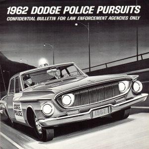1962 Dodge Police