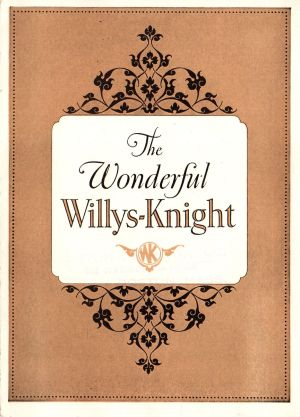 1925 Willys Knight Brochure
