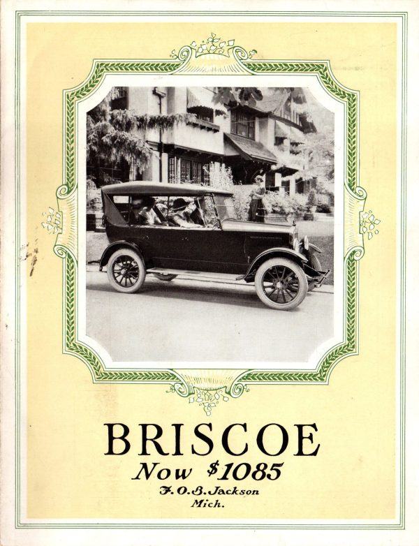 1921 Briscoe Brochure