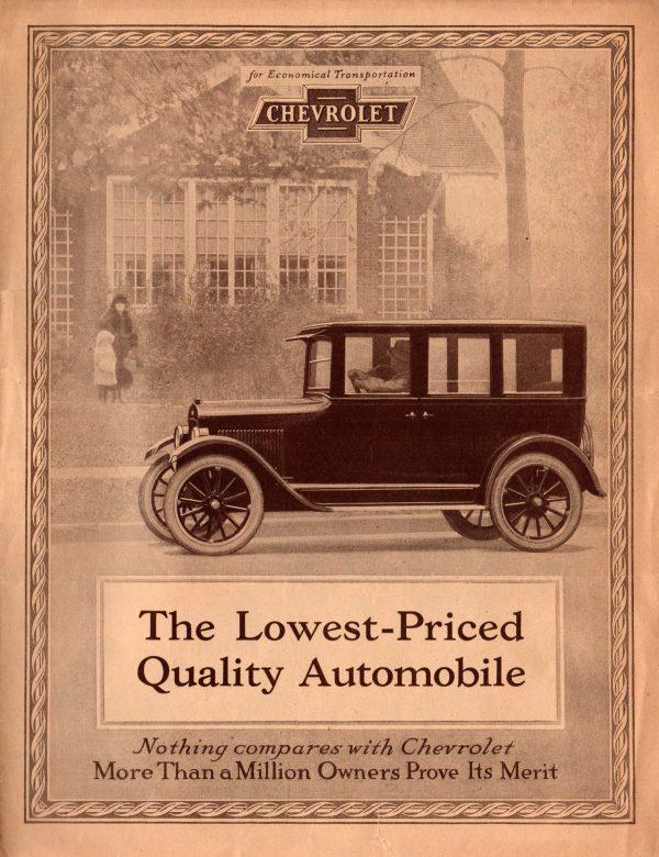 1924 Chevrolet Brochure