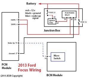 Quick fix for 2013 Ford Focus starting problem after collision