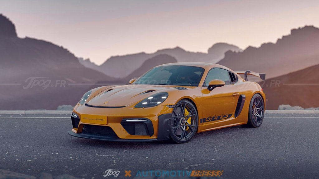 Porsche 718 Cayman GT4 RS : Bête de course en vue ! (images exclusives)