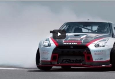 NISSAN GT-R najszybszy drift na świecie