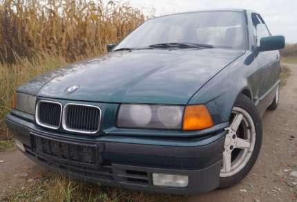 BMW e36 Compact - 1.8is (1994-2000) - niezły dzik