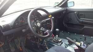 Wnętrze driftowóz BMW e36 318is
