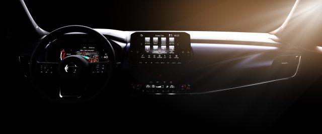 Nuovi interni per la Nissan Qashqai: tutti i dettagli.
