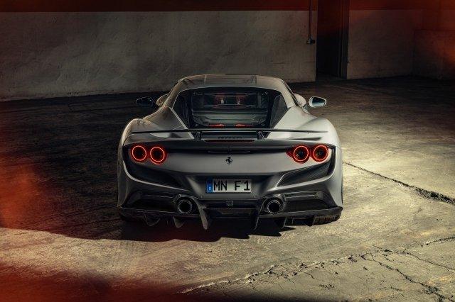 Ferrari F8 Tributo posteriore