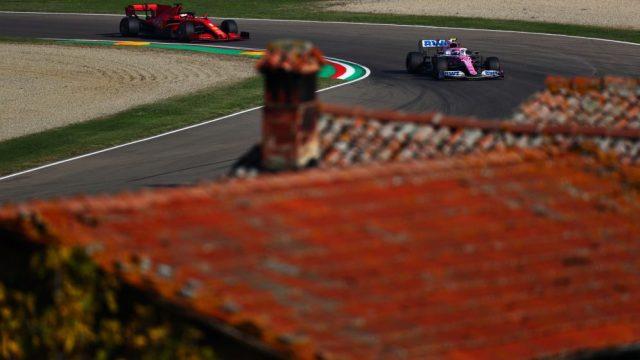 Vettel a Imola