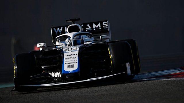 Roy Nissany in pista con la Williams nei test pre-stagionali.