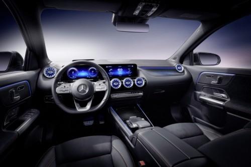 Mercedes EQA interni