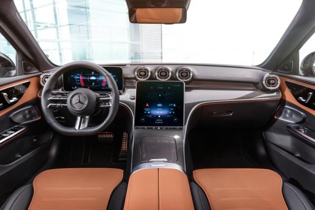 Mercedes-Benz Classe C interni