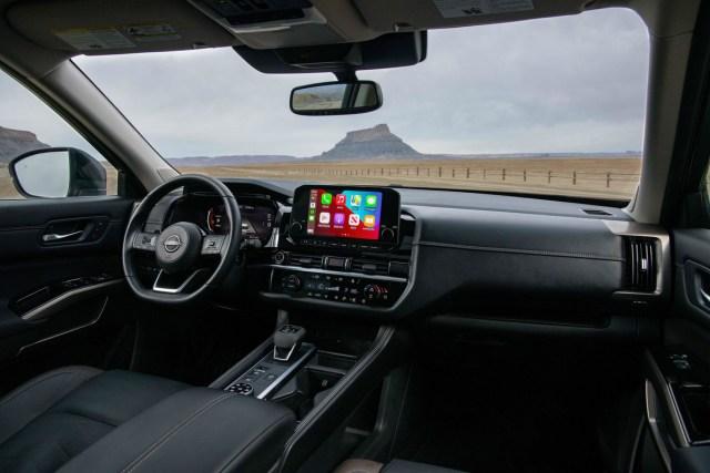 Nissan Pathfinder interni
