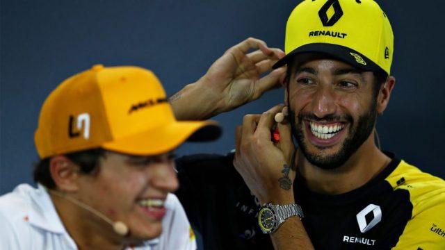 Norris e Ricciardo
