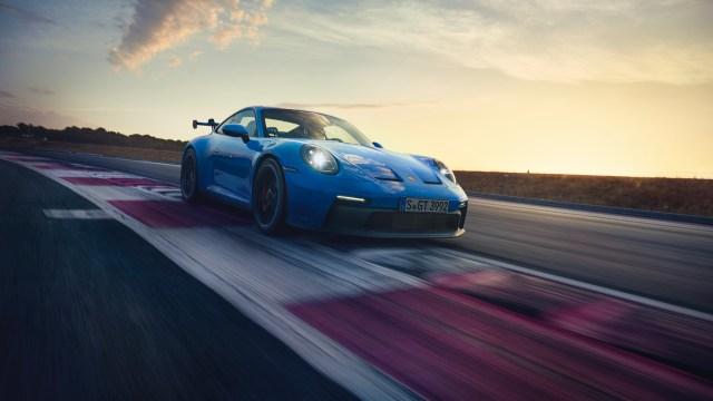 Nuova Porsche 911 GT3 frontale