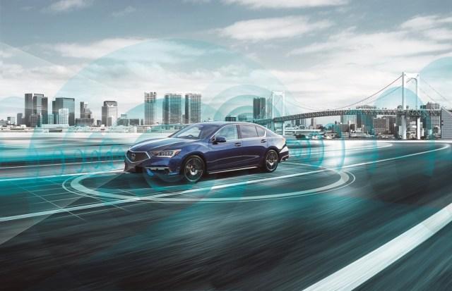 Honda Legend EX guida autonoma di livello 3