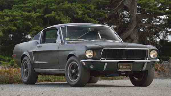 Vendita record per la Ford Mustang GT di Bullit guidata da Steve McQueen