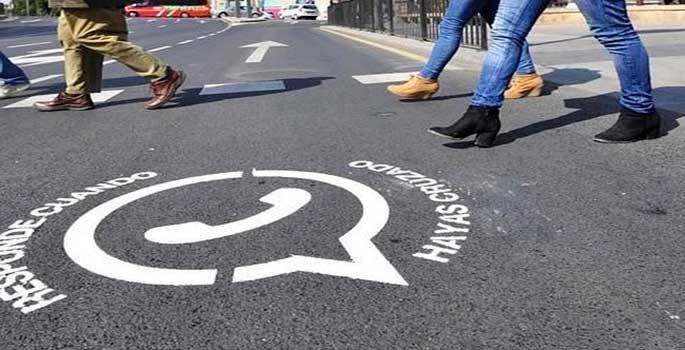 Los peatones-tecnológicos un gran peligro para la seguridad víal