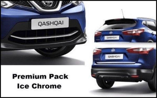 pack premium cromado Nissan Qashqai Nuevo