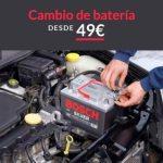 Cambio de batería Automotor y Ventas