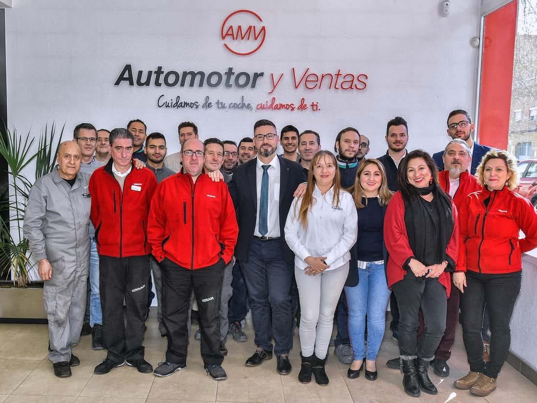 Equipo de Automotor y ventas