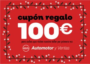 Cupón 100€ automotoryventas