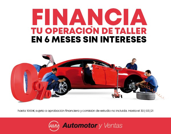 Financiación reparación coche