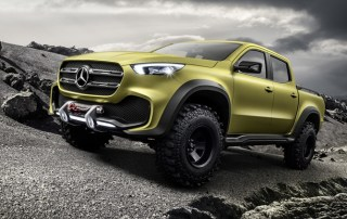 more power to Mercedes-Benz X-Class