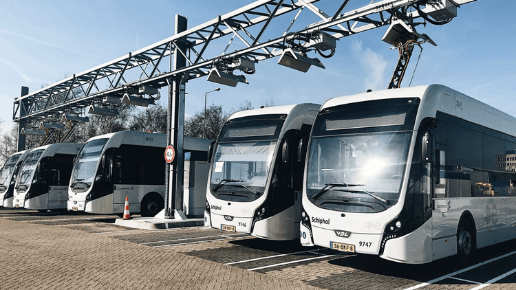 Auto Garage Rotterdam : Rotterdam goes electric new and electric buses on the way