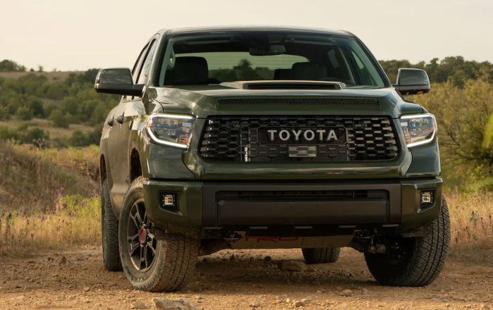 First Photos of 2022 Toyota Tundra Pickup