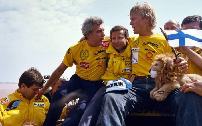 Ari Vatanen Dakar 1987