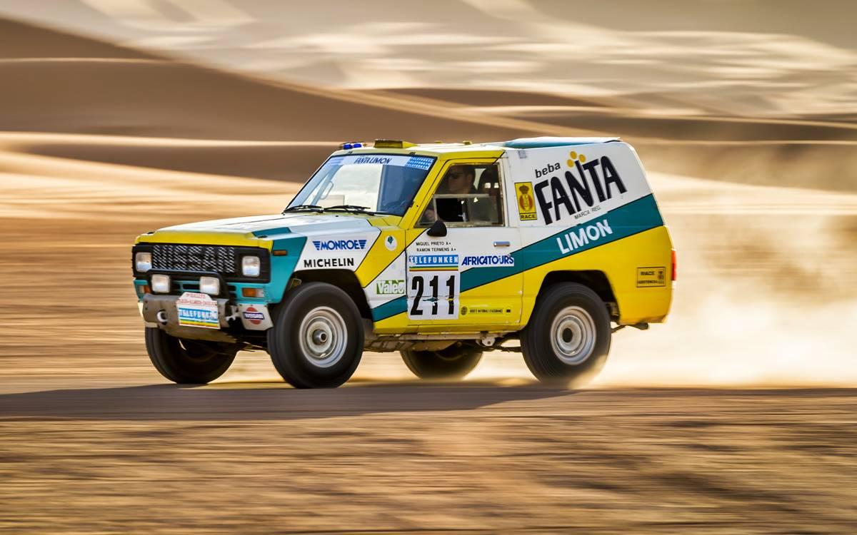 Nissan Patrol Fanta Lemon