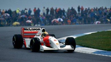 Photo of La brillante primera vuelta de Ayrton Senna en el GP de Europa de 1993