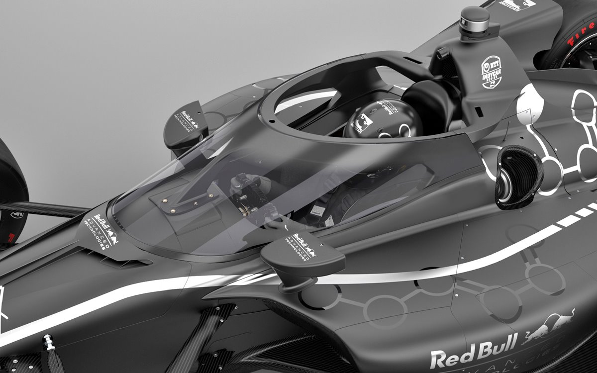 The Aeroscreen comes to IndyCar from the hand of Red Bull